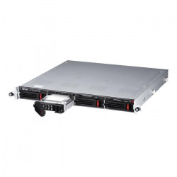 BUFFALO Serveur NAS - TeraStation 5410RN - 4 Baies - 12 To - rack-montable - SATA 6Gb/s - RAID 0, 1, 5, 6, 10, JBOD