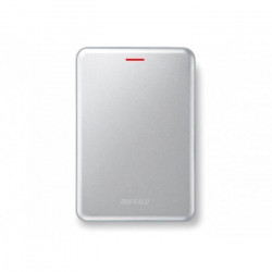 BUFFALO Disque dur externe SSD MiniStation SSD-PUSU3 - 480 Go - USB 3.1 - Argent