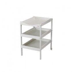 COMBELLE Table a langer Susie 3 Plateaux laque blanche