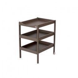 COMBELLE Table a langer Susie 3 Plateaux laque taupe