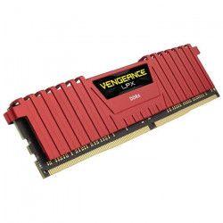 CORSAIR Mémoire PC DDR4 - Vengeance LPX 8 Go (1 x 8 Go) - 2400 MHz - CAS 14 - Rouge (CMK8GX4M1A2400C14R)