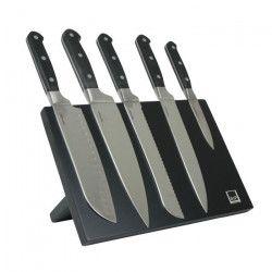 SP Bloc couteau magnétique Blade - 6 pieces - Noir
