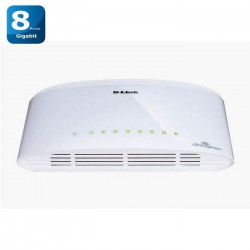 D-Link DGS-1008D - Switch Gigabit 8 ports