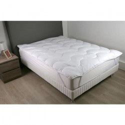 DODO Surmatelas 180 x 200 - Polyester fibre haute technologie - Moelleux - CONTRY