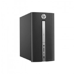 HP Pavilion PC de bureau - 570p010nf - 8Go de RAM - Windows 10 - INTEL CORE I5-7400- AMD RADEON R5 435- Disque dur