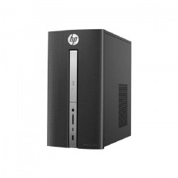 HP Pavilion PC de bureau - 570p017nf - 4 Go de RAM - Windows 10 - INTEL CORE I3-7100 - INTEL HD GRAPHICS- Disque