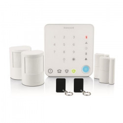 HONEYWELL Pack Alarme sans fil pour appartement Smart Security HS330S