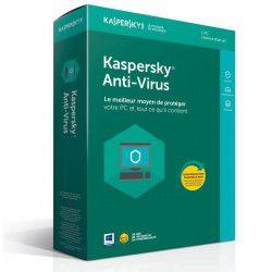 KASPERSKY Antivirus 2018 - 1 Poste / 1 An