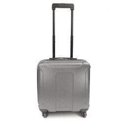 KINSTON Valise Cabine Low Cost Rigide ABS 4 Roues 46 cm Gris