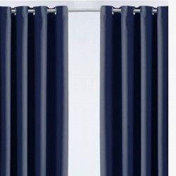 TODAY Paire de rideaux isolant - 140x240 cm - Ciel d`orage