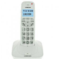 Logicom Confort 150 Solo Téléphone Sans Fil Sans Répondeur Blanc Senior