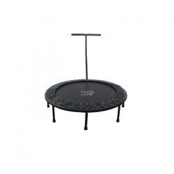 CARDIO JUMP Mini trampoline pliable T-Bar - 122cm - Noir