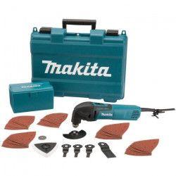 MAKITA Outil multifonction 320W TM3000CX4 avec 56 accessoires et coffret de transport