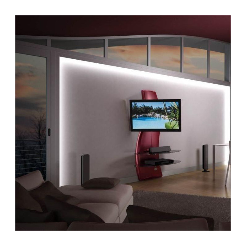 Meliconi ghost design 2000 rotation meuble tv support for Design 2000