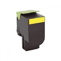 LEXMARK Cartouche de toner 702XY - Tres haute Capacité 4.000 pages - Pack de 1 - Jaune