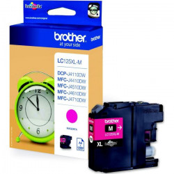 Brother LC125XLM Cartouche d`encre Magenta