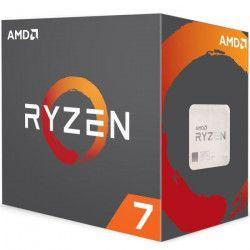 AMD Processeur Ryzen? 7 1700 avec refroidisseur Wraith Spire - 65W - 3GHz - Turbo 3,7GHz - Socket AM4 -