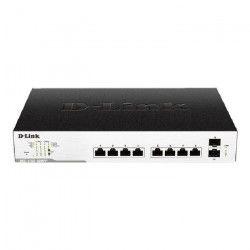 D-LINK Switch EasySmart 10-Ports - DGS-1100-10MPP - Poe Gigabit, budget 242 watts