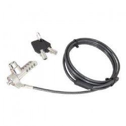 URBAN FACTORY Cable de protection antivol - 2m - Noir