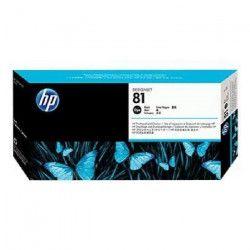 HP Tete d`impression + nettoyant 81 - Pack de 1 - Noir