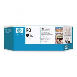 HP - 1 Tete d`impression + nettoyant 90 - Noir
