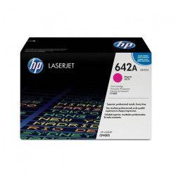 HP Cartouche de toner 642A Colour LaserJet original - Capacité standard 7.500 pages - Pack de 1 - Magenta
