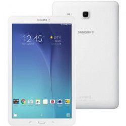 SAMSUNG Tablette Tactile Galaxy Tab E 3G 8 Bl - 9,6 pouces WXGA - RAM 1,5Go - Quad Core 1,3 GHz - Stockage 8Go -