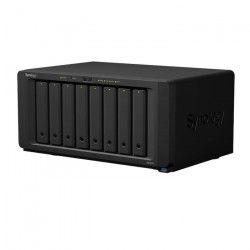 SYNOLOGY NAS DS1817+ - 8 baies - Processeur quadri-coeurs de 2,4 GHz - 2Go DDR3 SO-DIMM