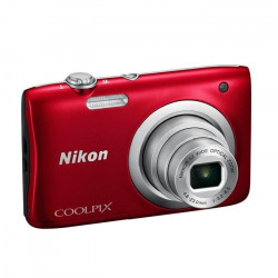 NIKON COOLPIX A100 Rouge - 20,1 mégapixels - Zoom NIKKOR - Appareil photo compact