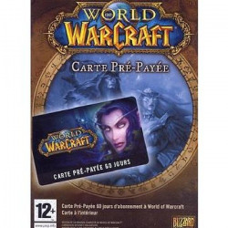 World Of Warcraft : Carte Pré-Payée Jeu PC