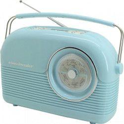 SOUNDMASTER DAB450BL Radio rétro DAB + FM - Bleu