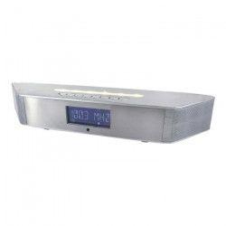 SOUDMASTER BT1308SI Radio-réveil Bluetooth & Lumiere LED pour montage mural