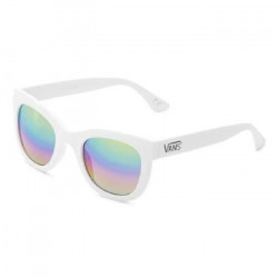 VANS Lunette de soleil Catch Ya Later - Mixte - Blanc