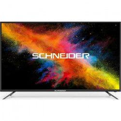 SCHNEIDER LED55-SCP200K TV UHD - 139 cm (55`) - 3 x HDMI - Classe énergétique A