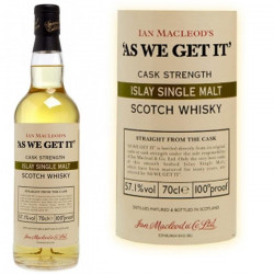 As we get it Islay 70cl 58.1°
