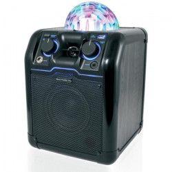 BLACK PANTHER CITY LIGHT PARTY BLACK Sono mobile disco - 25W - Bluetooth - Noire