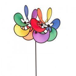 HQ INVENTO Moulin a vent 2 fleurs Flower Paradise