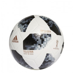 ADIDAS Ballon de football Coupe du Monde de la FIFA? Top Glider - Taille 5 - Blanc et noir