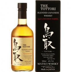 Tottori Whisky Japonais Bourbon finish 43% 50 cl