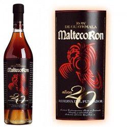 Rhum Malteco 20 ans Guatemala 70cl