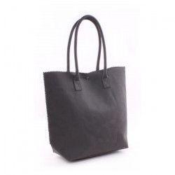 GENSHII Sac porté épaule Anytime you need a Friend en simili - 36x30x13 cm - Noir