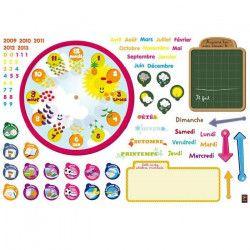 PLAGE Sticker déco - Organiseur 3-5 ans1 Planche 70x100 cm
