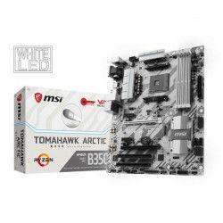 MSI Carte mere B350 TOMAHAWK ARCTIC - Socket AM4 - DDR4 - 3200+ (OC) MHz - B350 TOMAHAWK ARCTIC