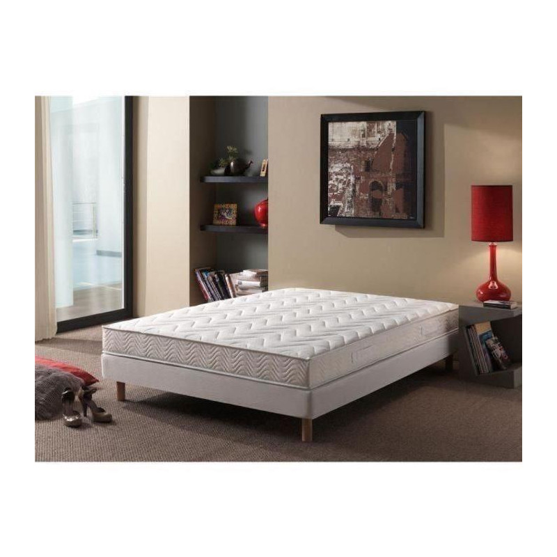 matelas mousse m moire de forme 140 x 190 confort. Black Bedroom Furniture Sets. Home Design Ideas