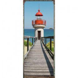 Sticker Adhésif de porte Ondoor - Cape code - 204 x 83 cm