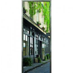 Sticker Adhésif de porte Ondoor- Old town - 204 x 83 cm