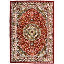 SAJADA Tapis de salon 160x230 cm rouge