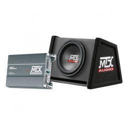 MTX Pack Caisson Reflex avec Ampli RTP2000