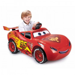 FEBER - Voiture CARS 3 Flash McQueen - Voiture Electrique Enfant - Batterie 6V - Disney