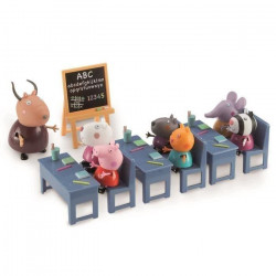 PEPPA PIG la Salle de Classe + 7 personnages